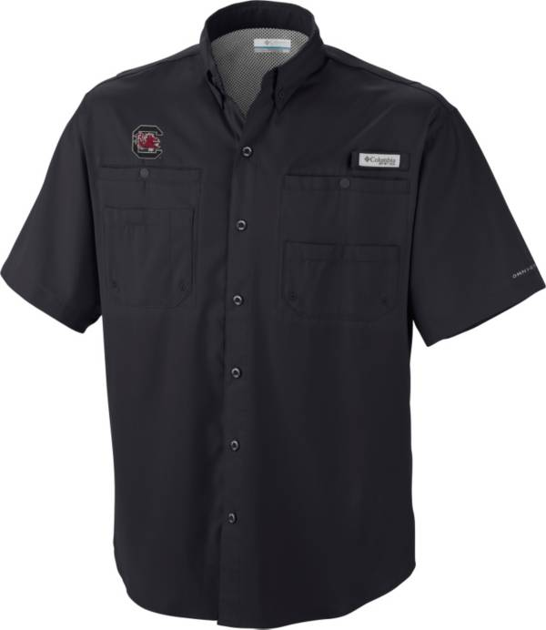 Columbia Men's South Carolina Gamecocks Black Tamiami Performance Shirt product image