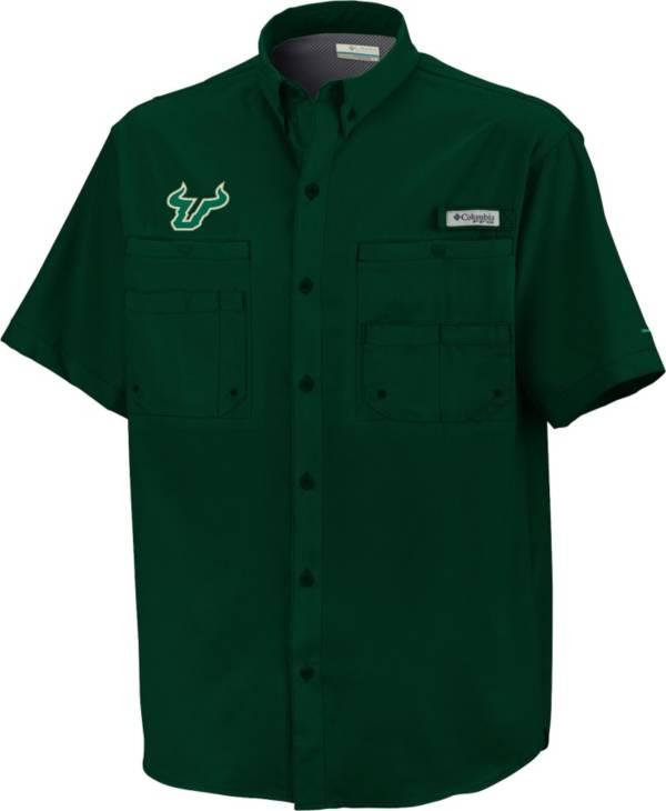 Columbia Men's South Florida Bulls Green Tamiami Short Sleeve Performance Shirt product image