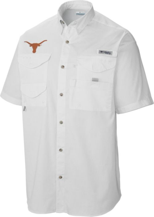 b9270f44e Columbia Men s Texas Longhorns White Tamiami Performance Shirt.  noImageFound. Previous