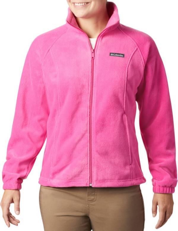 Columbia Women's Tested Tough In Pink Benton Springs Full Zip Jacket product image