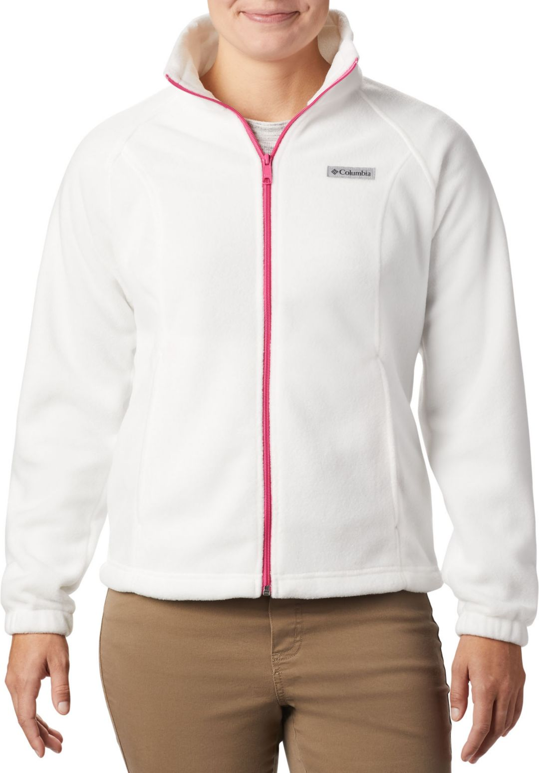94e7ecccd Columbia Women's Tested Tough In Pink Benton Springs Full Zip Jacket