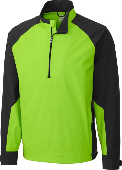 Cutter Buck Mens Cb Weathertec Summit Quarter Zip Long Sleeve