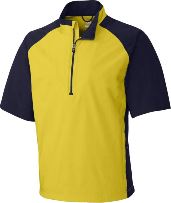 Cutter & Buck Men's CB WeatherTec Summit Quarter-Zip Short Sleeve Golf Pullover product image