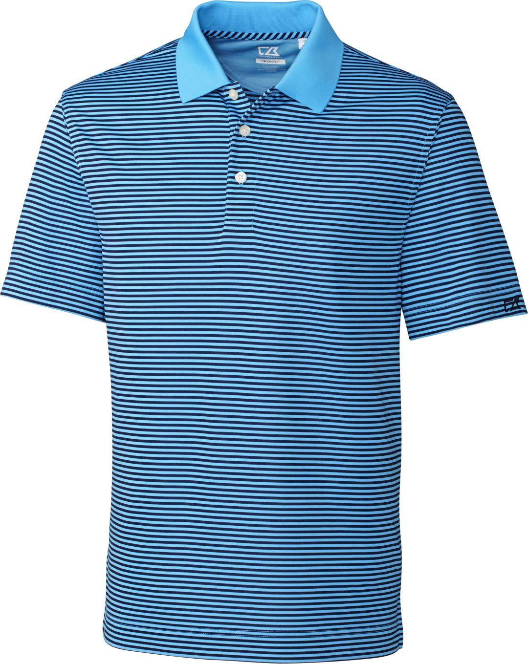 82b66b8a365 Cutter & Buck Men's CB DryTec Trevor Stripe Golf Polo