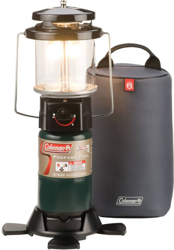 Coleman Deluxe PerfectFlow Propane Lantern with Soft Carry Case product image