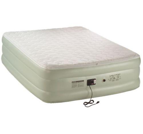 Coleman Queen Size Double High QuickBed Pillow Top Air Mattress ... b96a0c04df83