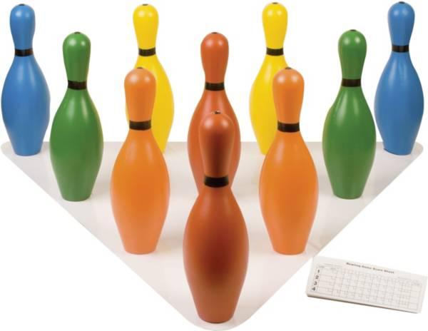 Champion Sports Multi-Color Plastic Bowling Pin Set product image