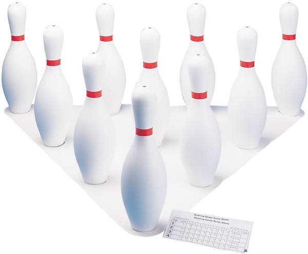 Champion Sports Plastic Bowling Pin Set product image