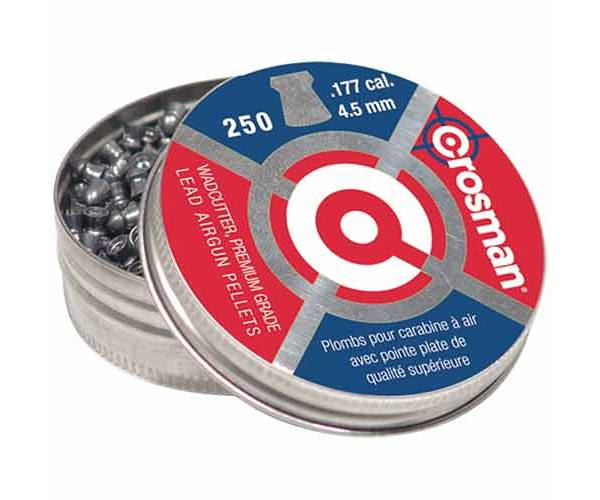 Crosman Wadcutter .177 Caliber Pellets - 250 Count product image