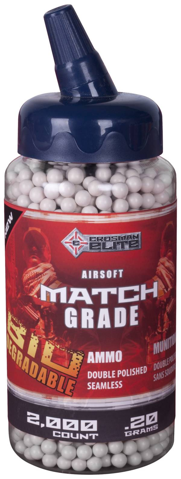 Crosman .20G Airsoft BBs - 2000 Count product image