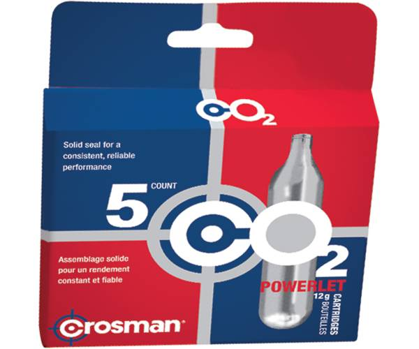 Crosman CO2 Cartridges - 5 Pack product image
