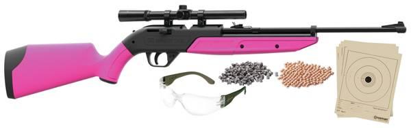 Crosman Pumpmaster 760BKT Pellet / BB Gun Package - Pink product image