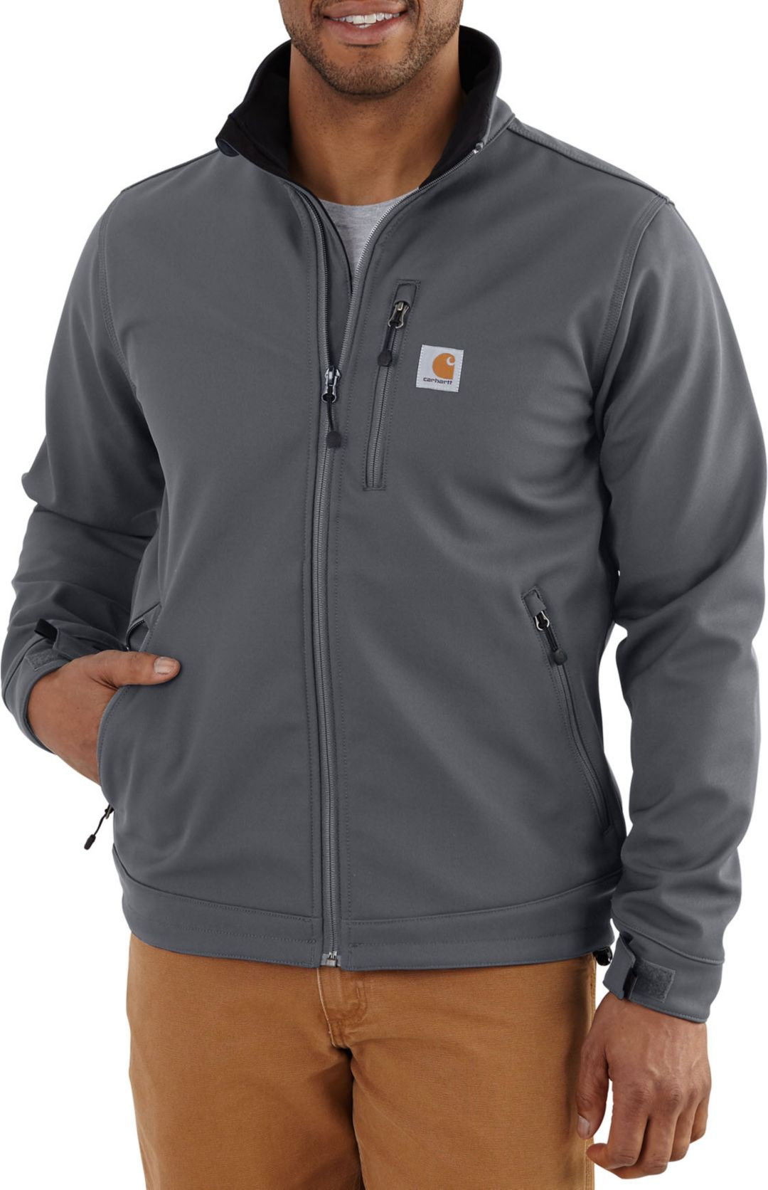 e56d3f65a7d47 Carhartt Men's Crowley Softshell Jacket | DICK'S Sporting Goods