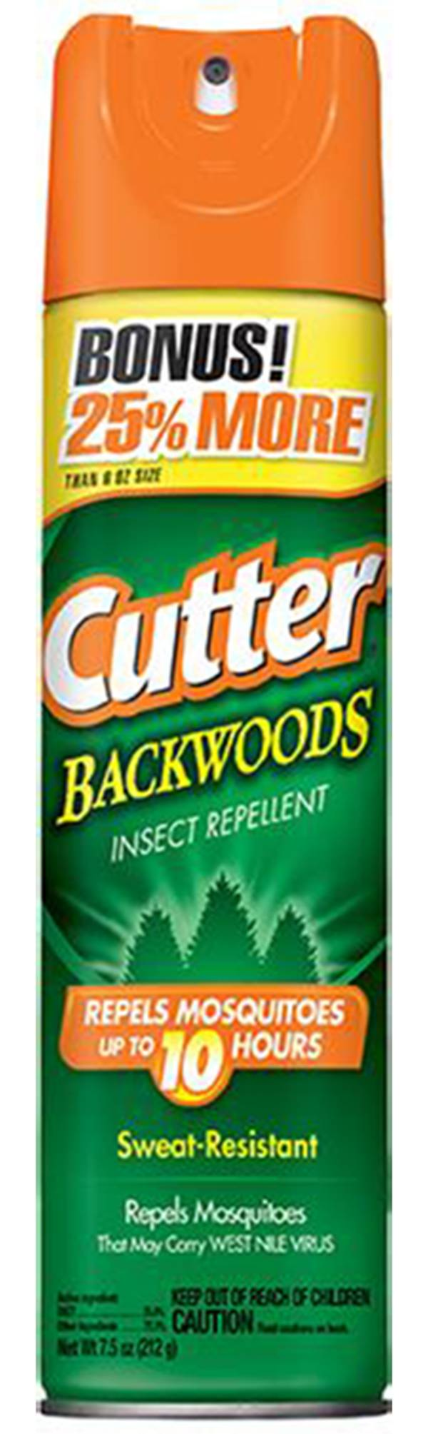 Cutter Backwoods 7.5 oz. Insect Repellent Aerosol product image