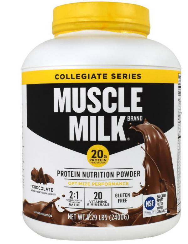 Cytosport Muscle Milk Collegiate Powder Chocolate 5.29 Pounds product image