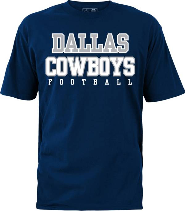 Dallas Cowboys Merchandising Men's Practice Navy T-Shirt product image