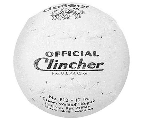 "deBeer 12"" Official Clincher Specialty Slow Pitch Softball product image"