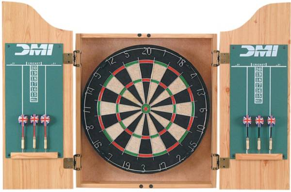 DMI Sports Deluxe Bristle Dartboard Cabinet Set product image