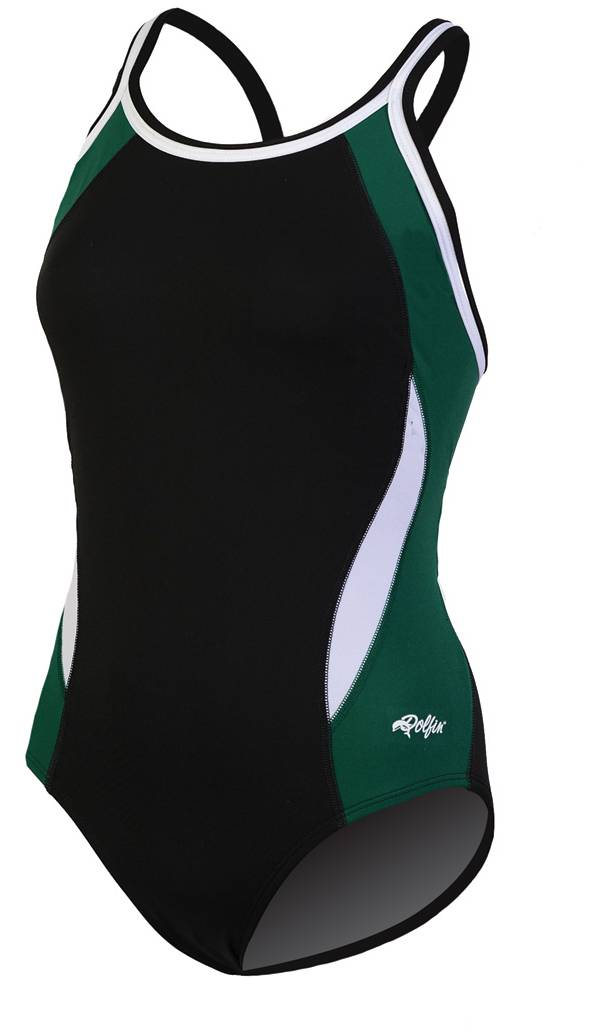 Dolfin Women's Chloroban Color Block DBX Back Swimsuit product image
