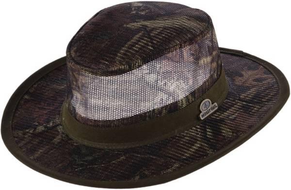 Dorfman Pacific Mossy Oak Men's Camo Mesh Safari Hat product image
