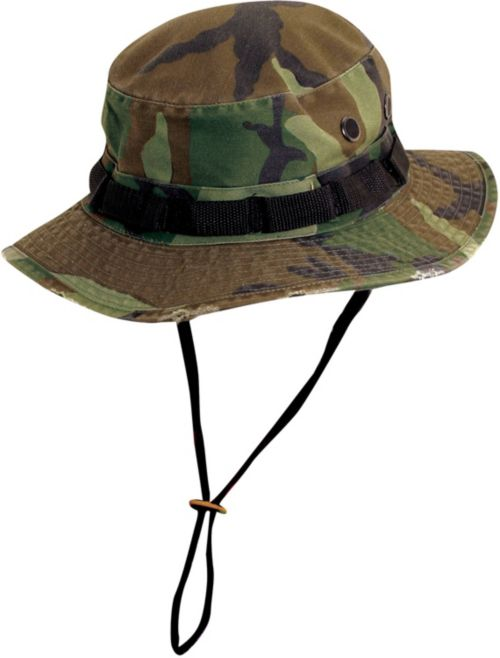 Dorfman Pacific Men s Jungle Camo Boonie Hat. noImageFound. 1 82e3bfc22
