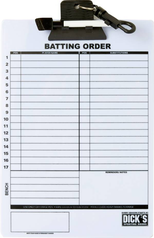 DICK'S Sporting Goods Baseball/Softball Coach's Clipboard product image