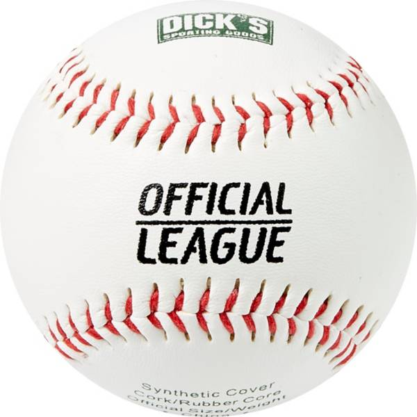 DICK'S Sporting Goods Synthetic Baseballs – 12 Pack product image