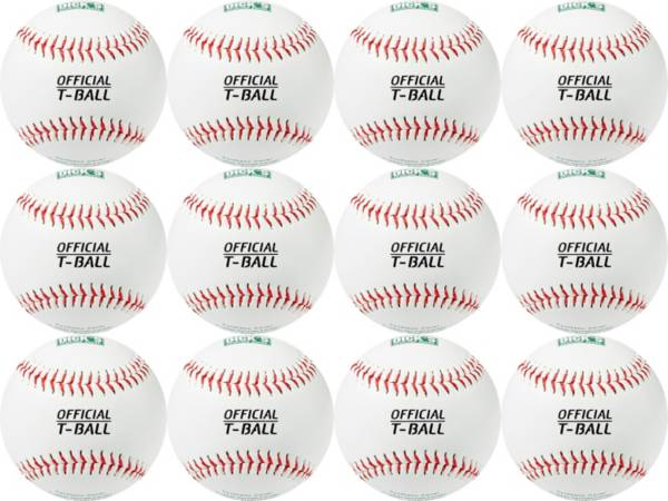 DICK'S Sporting Goods Synthetic T-Balls – 12 Pack product image
