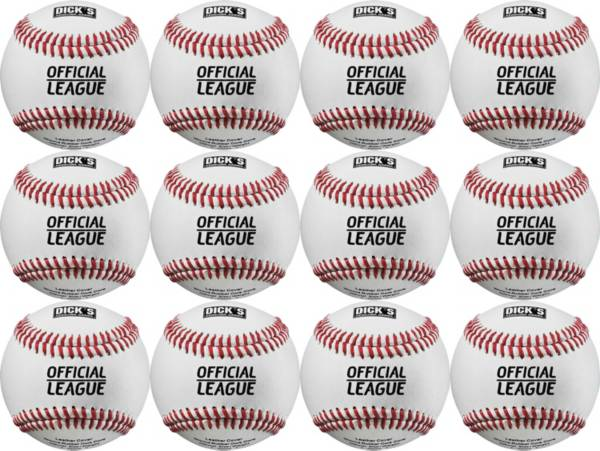 DICK'S Sporting Goods Leather Baseballs - 12 Pack product image