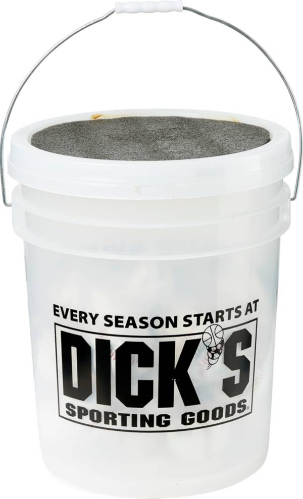 DICK'S Sporting Goods Bucket of 24 Synthetic Baseballs product image