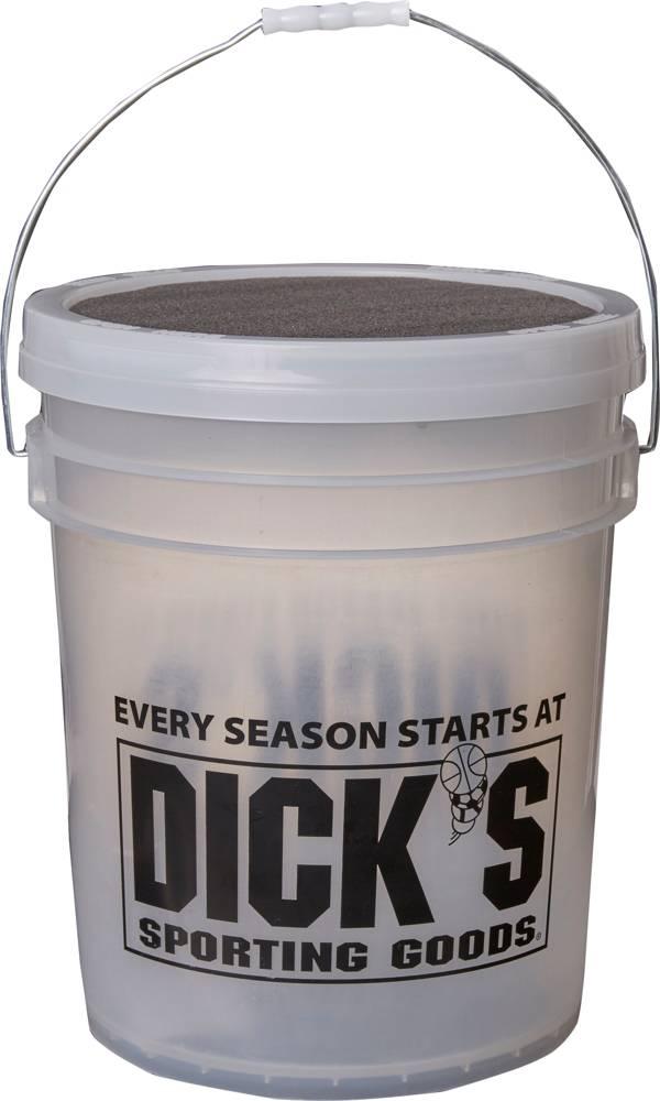 DICK'S Sporting Goods Bucket of 12'' Softballs - Dozen product image