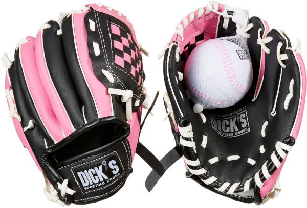 DICK'S Sporting Goods Backyard T-Ball Glove & Ball product image