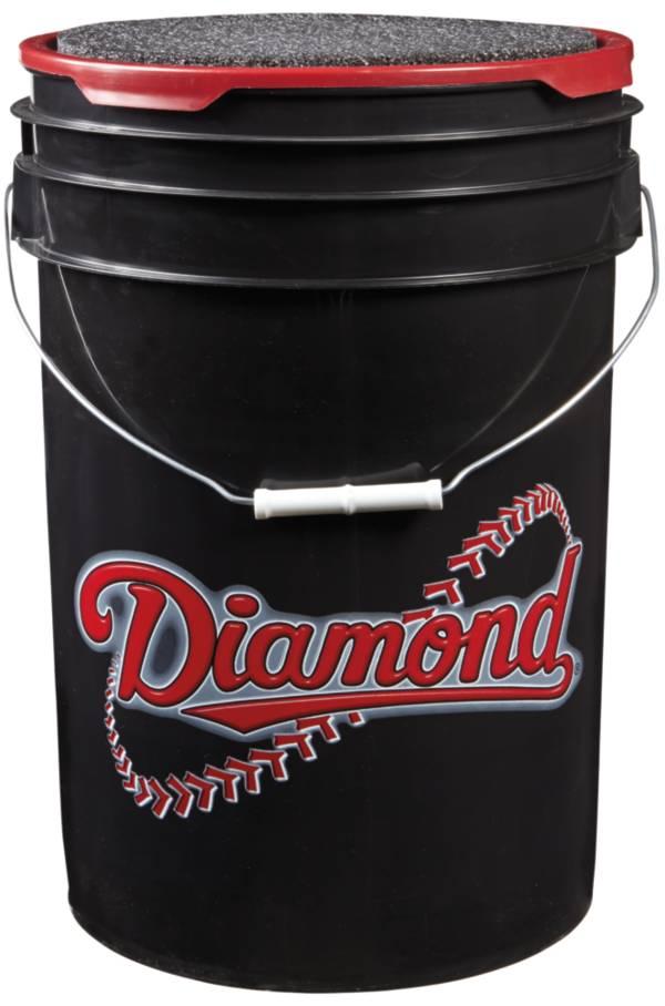 Diamond D-OB Official League Practice Bucket of 30 Baseballs product image