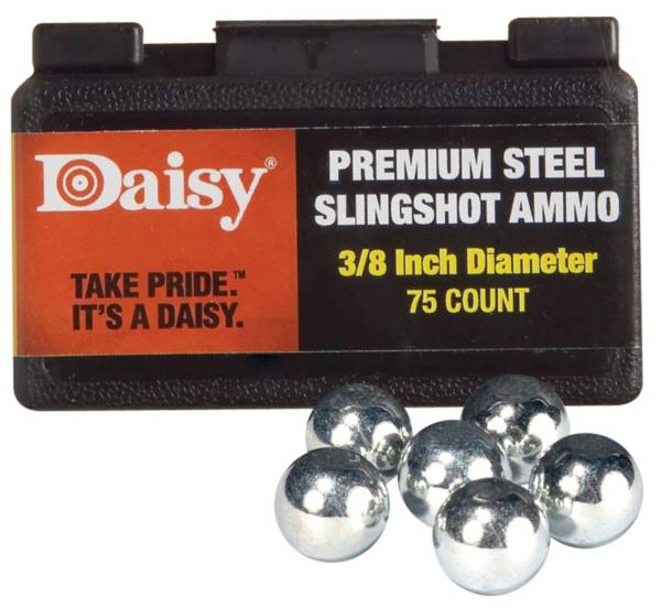 Daisy Premium 3/8'' Steel Slingshot Ammo - 75 Count product image