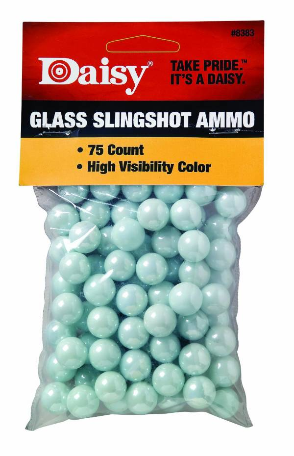 "Daisy .5"" Glass Slingshot Ammo - 75 Count product image"