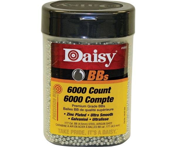 Daisy PrecisionMax .177 Caliber BBs - 6000 Count product image