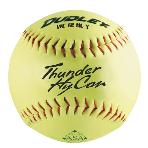 """Dudley 12"""" ASA Thunder HyCon Slow Pitch Softball product image"""