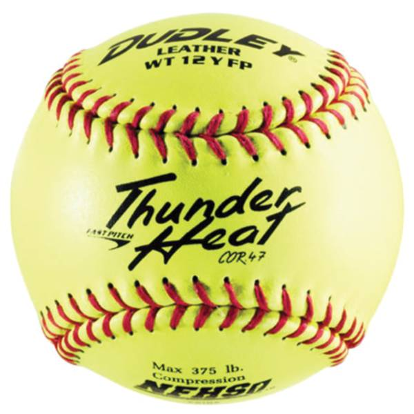 """Dudley 12"""" NFHS Thunder Heat Fastpitch Softball product image"""