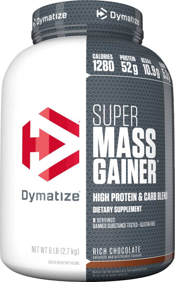 Dymatize Super Mass Gainer Chocolate Protein Powder 6 LBS product image