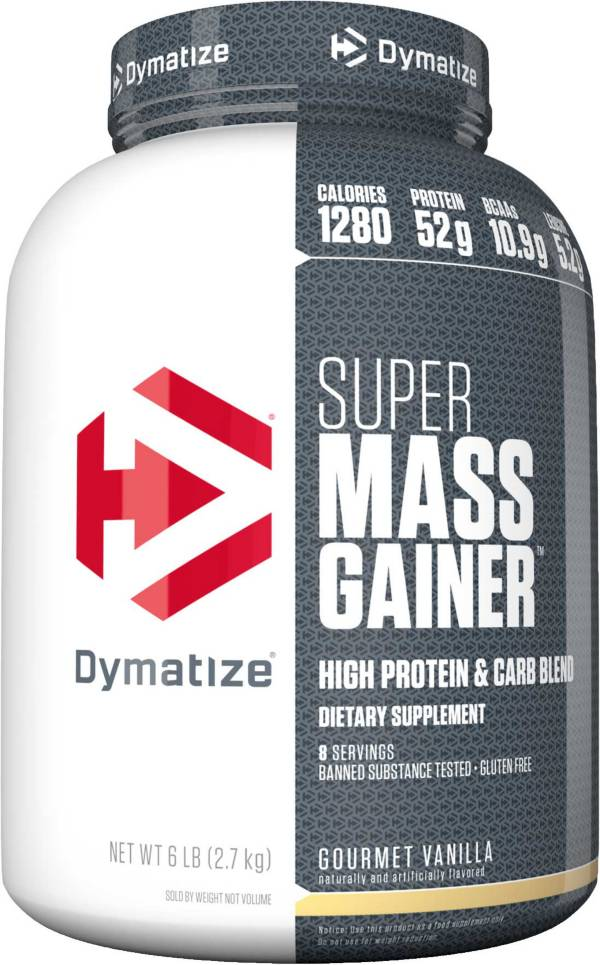 Dymatize Super Mass Gainer Vanilla Protein Powder 6 LBS product image