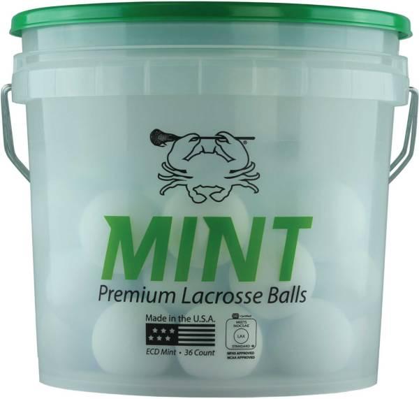 East Coast Dyes Mint Lacrosse Balls – 36 Ball Bucket product image