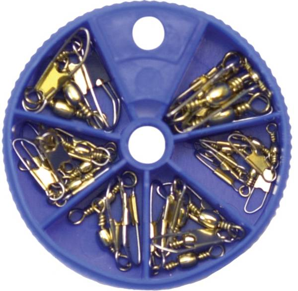 Eagle Claw Brass Snap Swivel Assortment product image