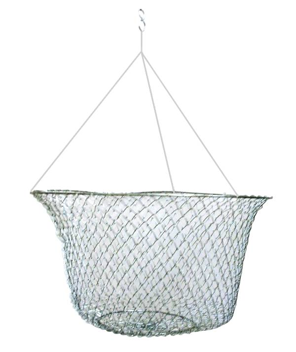 Eagle Claw 2 Ringed Wire Mesh Crab Net product image