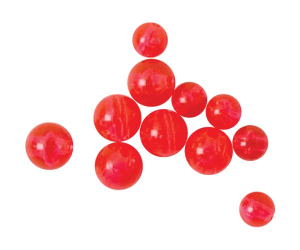 Wright & McGill 6mm Red Fishing Beads - 50 Pack product image