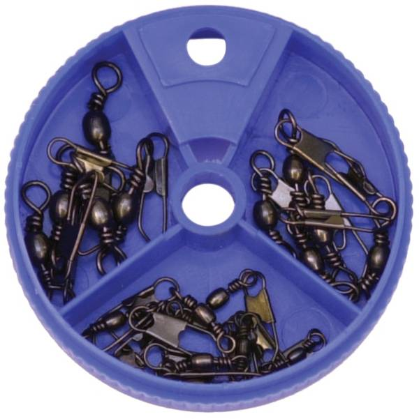 Eagle Claw Black Snap Swivel Assortment product image
