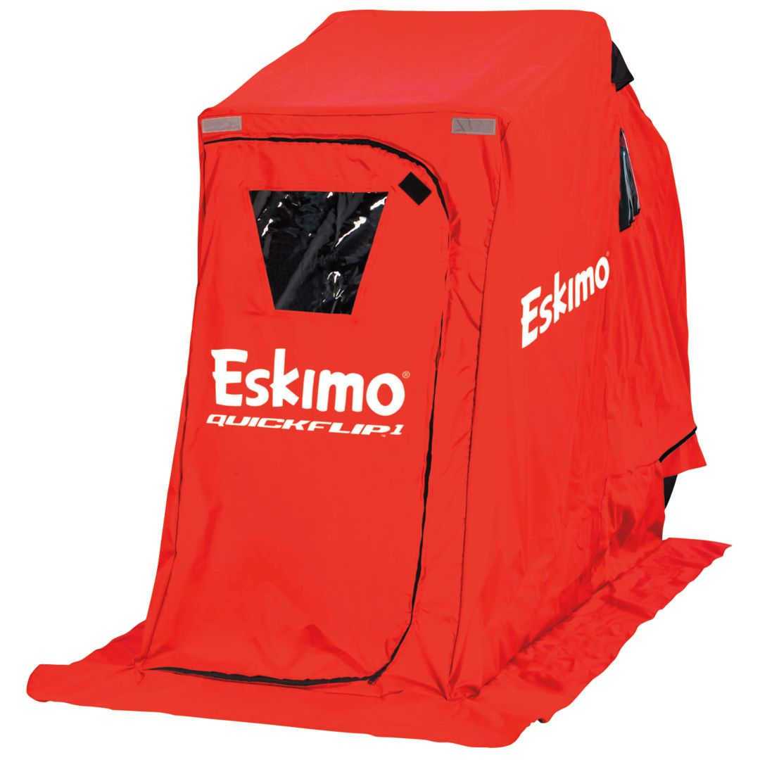 Eskimo QuickFlip 1-Person Ice Fishing Shelter