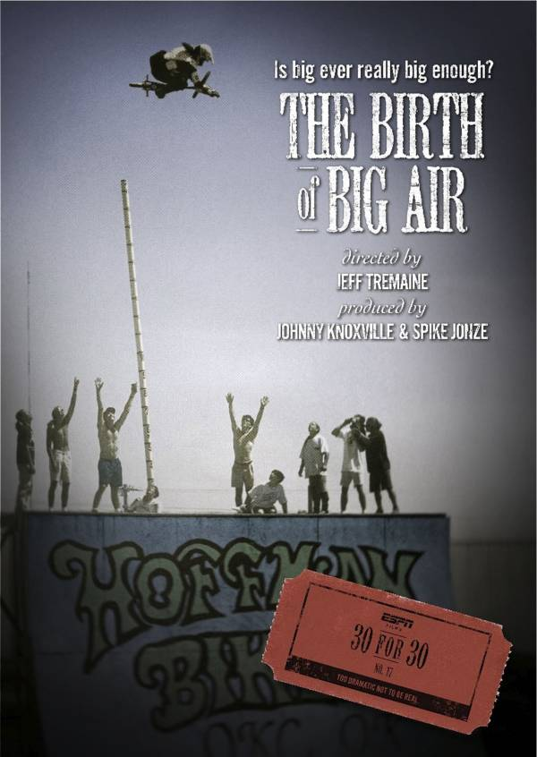 ESPN Films 30 for 30: Birth of Big Air DVD product image
