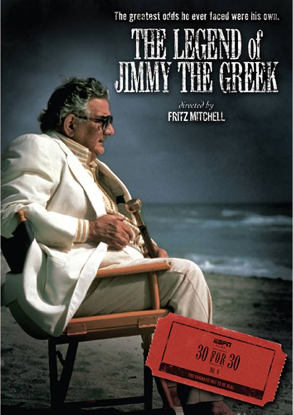 ESPN Films 30 for 30: The Legend of Jimmy The Greek DVD product image