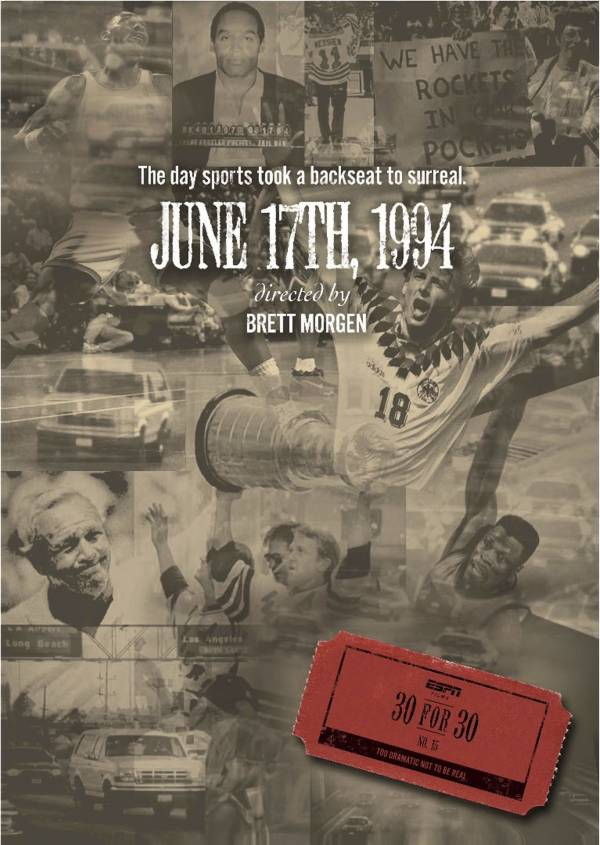 ESPN Films 30 for 30: June 17th, 1994 DVD product image
