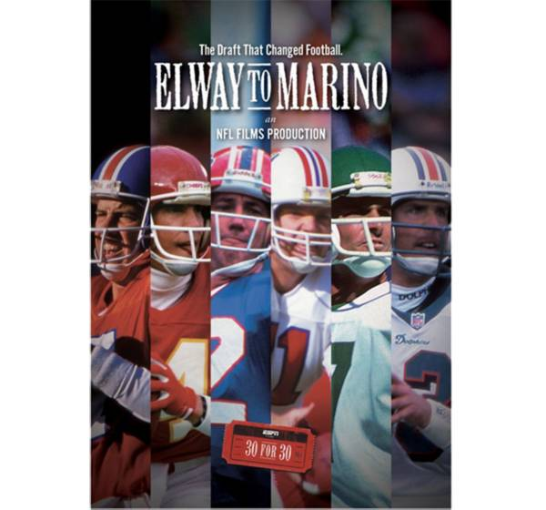 ESPN Films 30 for 30: Elway to Marino DVD product image